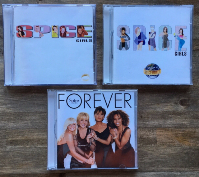 Spice Girls : 3 CD albums, pop, Alle tre studiealbums med…