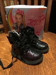 Jojo Siwa Glitter Combat Boots Toddler