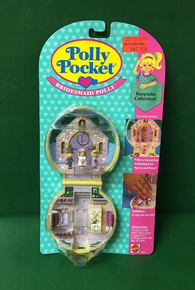 Polly Pocket Bridesmaid Polly 1993 MIC By mattel