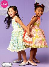 McCALL/'S #M6019 GIRLS SUPER CUTE SUMMER TOP-HEADBAND /& LEGGINGS PATTERN 3-5 FF