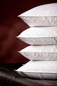 kopfkissen 80x80 natur 100 daunen und federn w hlbare anteile und gewichte ebay. Black Bedroom Furniture Sets. Home Design Ideas