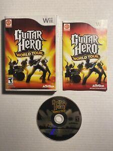 CIB-Guitar-Hero-World-Tour-Nintendo-Wii-2008-COMPLETE-IN-BOX