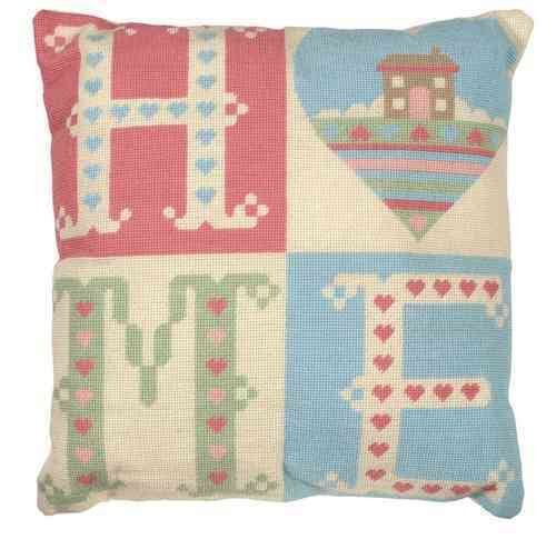 Anchor Living ALR38 Tapestry Cushion Front Kit Home Sweet Home