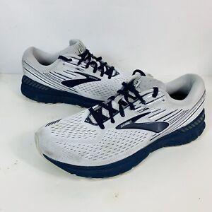 Brooks Adrenaline GTS 19 Grey Navy Blue