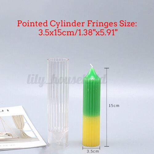 DIY Plastik Kerzenherstellung Formen Rund Form Machen Werkzeug Handgefertigt ~