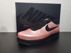 8315f8292eae04 Nike Air Force 1 AF1 Foamposite Pro Cup Coral Stardust Black AJ3664 ...