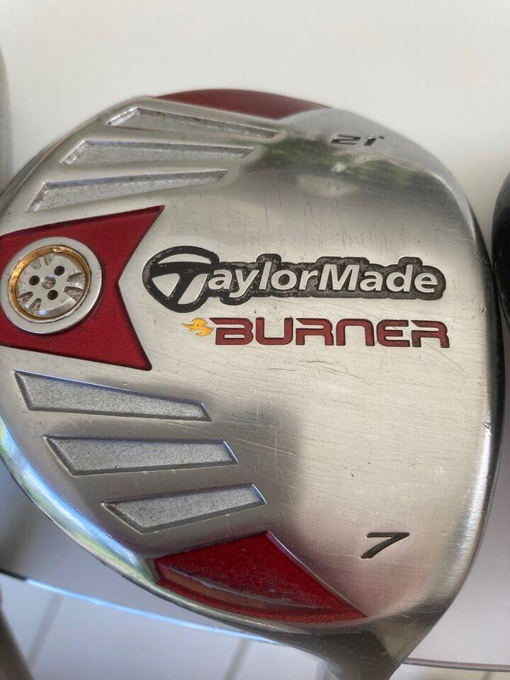 Begynder golfsæt, stål, TAYLOR MADE