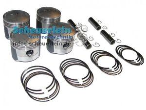 Übermaß os Kolbenringe Piston rings 1.00 2 Kawasaki Z200 Z 200 Kolben Kit