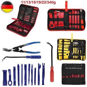 DE KFZ Auto Werkzeug Set 15 Tlg Demontage Verkleidung Lösewerkzeug Radio Ausbau