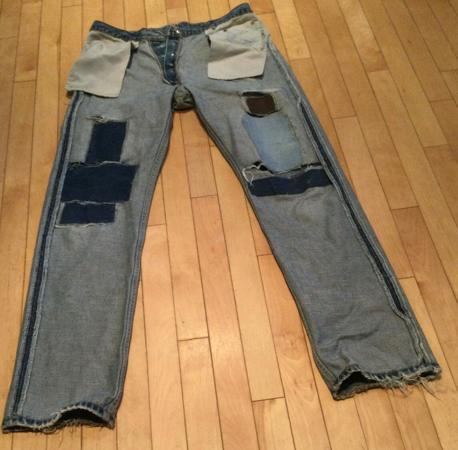 levis 501 made in usa vintage - image 2
