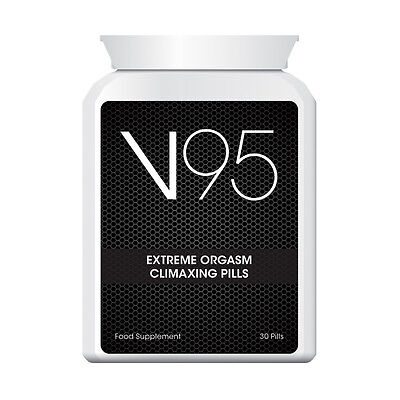 Sexual Wellness Health & Beauty V95 Extreme Orgasm Climaxing Pills Increase Arousal & Desire Cum Every Time