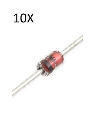 ZENER 500MW 2.7V BZX79-C2V7 Pack of 10 NXP DIODE