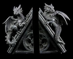 Details Sur Dragons Serre Livres Triangulaire Deco Figurine Fantastique Gothique