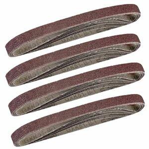 20-Assorted-Sanding-Air-Belt-Finger-Sander-Belts-13mm-x-457mm