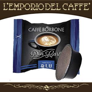 200-Capsule-Cialde-caffe-Borbone-Don-Carlo-Blu-compatibili-Lavazza-A-Modo-Mio