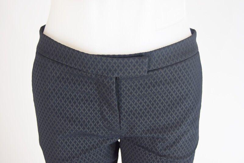 T BY ALEXANDER WANG Nero Con motivi Pantaloni, Pantaloni, Pantaloni, Taglia Small c02530