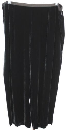 Black Elastic Talbots Velvet Waist Womens 20w Ladies Zip Størrelse Petite Side Pants gqqfTtvx1w