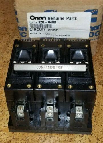 Details about  /ONAN 320-0488 RE-CIRK-IT 30 AMP 480 VOLT 3 POLES CIRCUIT BREAKER fits RJC  NOS