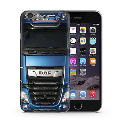 DAF XF   Truck Cabine  Gift  Rubber  Phone Case Cover For iPhone Samsung