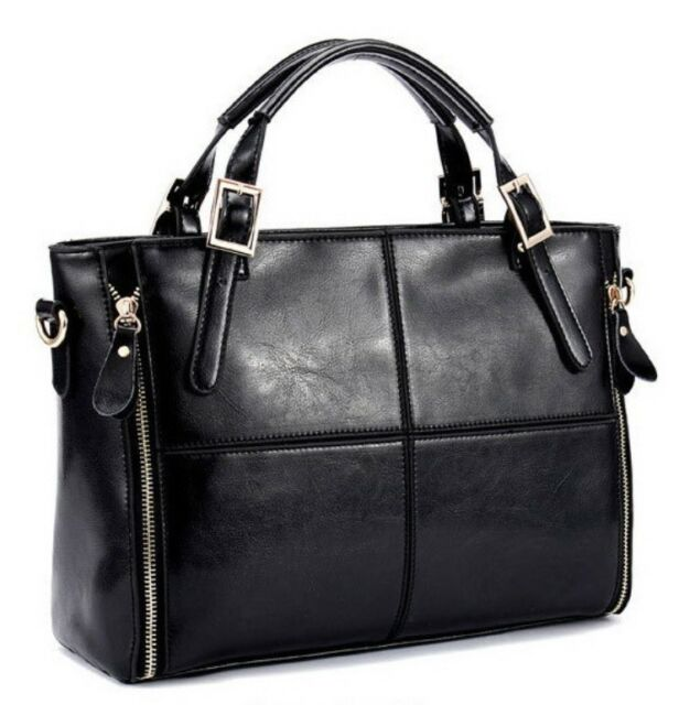 New Women Handbag Shoulder Tote Purse Messenger Satchel Cross Split Leather Hobo