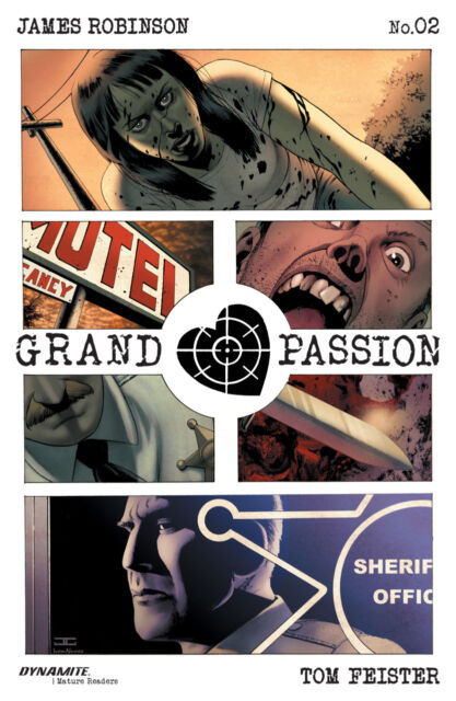 Grand Passion (2016) #2 VF/NM John Cassaday Cover Dynamite