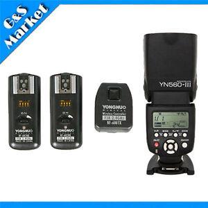 YongNuo-YN560III-Flash-Speedlight-RF-602-2-4GHz-Wireless-Remote-Trigger-Kit