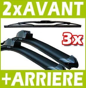 """30/"""" pour RENAULT ESPACE IV 2002 Sur Direct Fit Avant Aero Balais D/'essuie-glace Paire 28/"""""""
