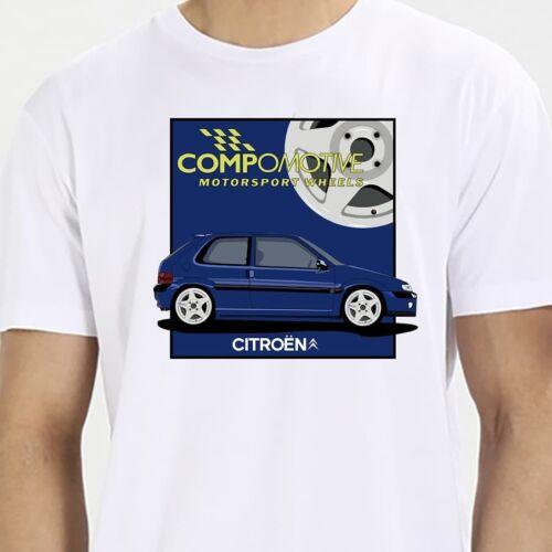 Camiseta citroen saxo vts fase 1