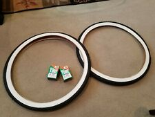 2 TWO DURO 29X2.10 54-622 BICYCLE TIRES BLACK /& 2 TUBES