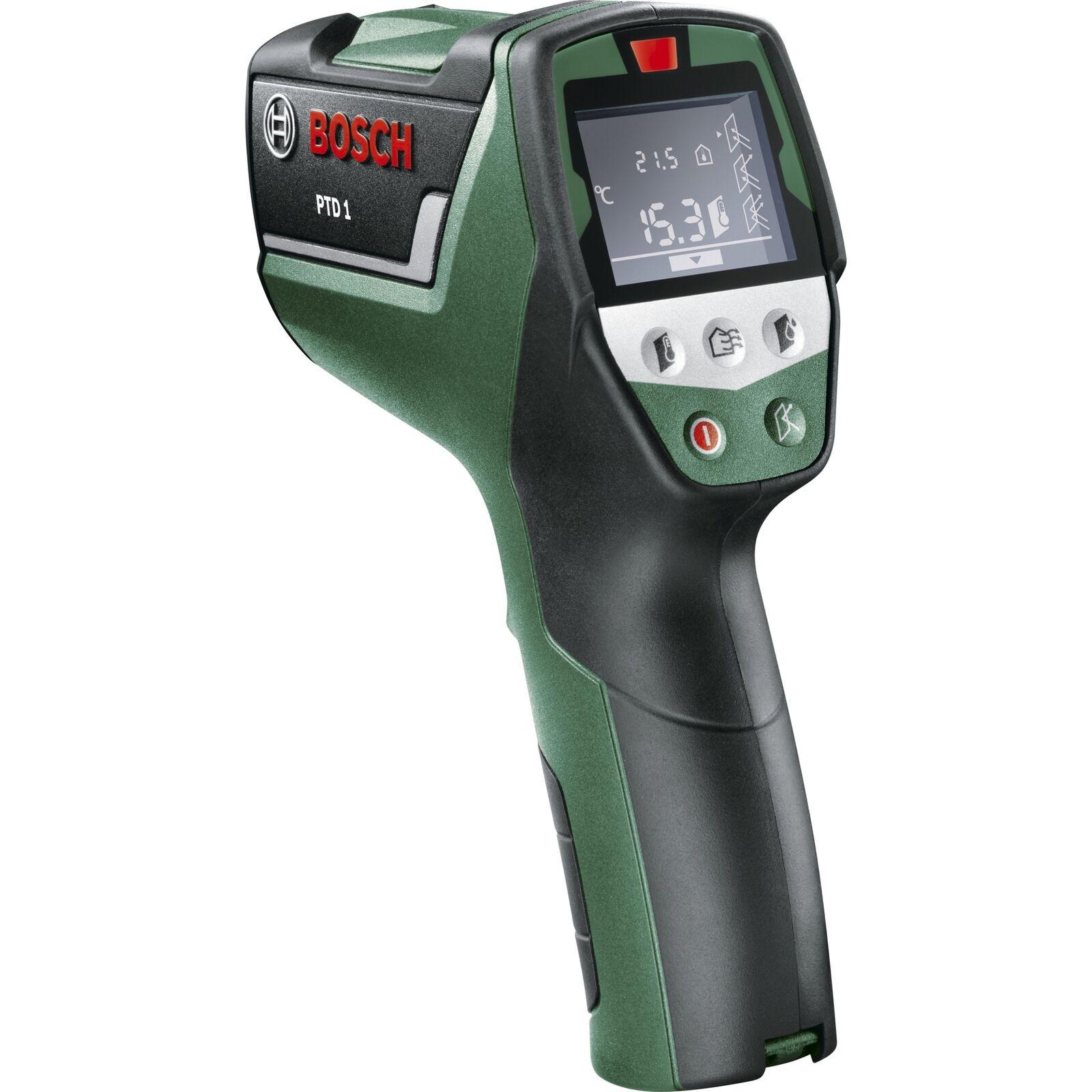 Bosch Heimwerken & Garten Thermodetektor PTD 1, grün