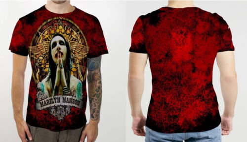 MARILYN MANSON Rock NEW Mens T-Shirt Tee