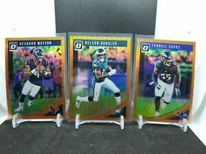 2018-Donruss-Optic-Football-COLOR-amp-INSERTS-U-Pick-Choose-101-199-FREE-SHIPPING
