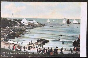 Ladies-Bathing-Place-Portrush-Co-Antrim-Postcard-Northern-Ireland-1908-Pepper