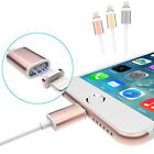 Magnetic Adapter Micro USB Lightning Charging Cable For iPhone 7 Plus Samsung LG