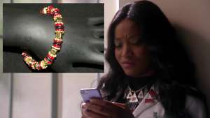 SCREAM-QUEENS-ZAYDAY-WILLIAMS-KEKE-PALMER-PRODUCTION-WORN-Bracelet-1A
