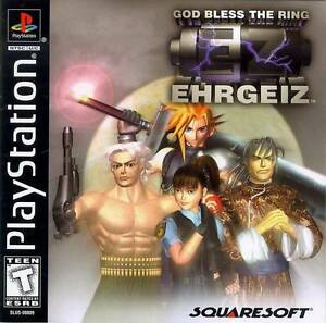 Ehrgeiz-God-Bless-The-Ring-PS1-Great-Condition-Fast-Shipping