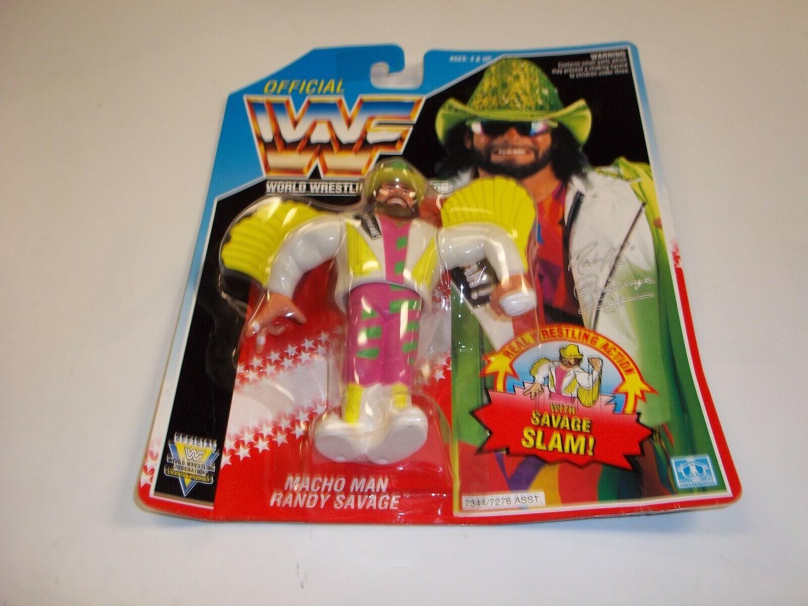 Hasbro Hasbro Hasbro WWF Macho Man Randy Savage Slam ages 4 and up rare Macho Wings a935ca