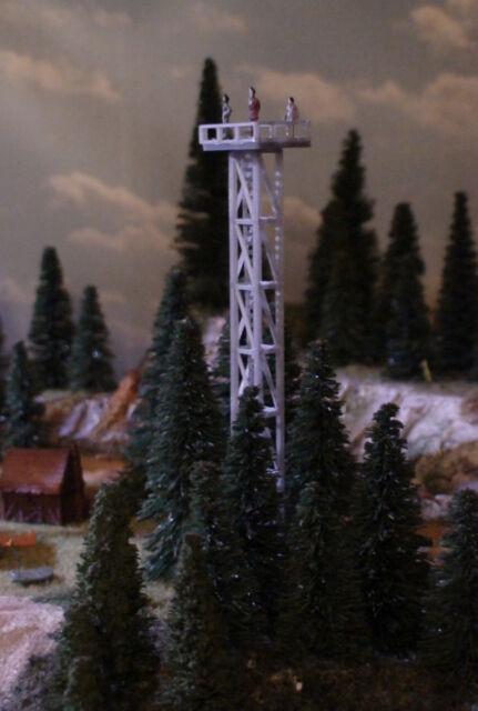 Spur Z moderner Aussichtsturm   Aussichtsplattform   Aussichtspunkt  Bausatz