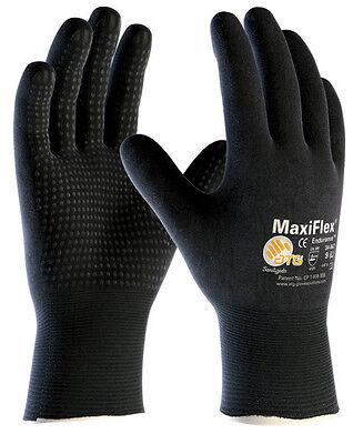 MaxiFlex Endurance 34-847 Drivers Nitrile Foam Micro Dot Coated Work gloves