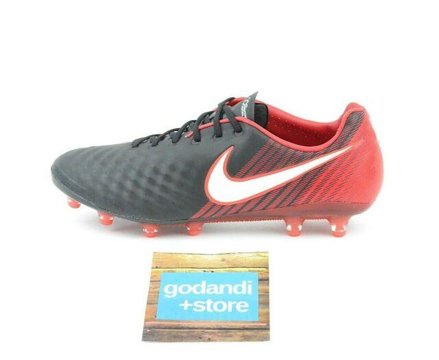 curva Mamut tolerancia  Nike Magista Opus II 2 AG Pro ACC Soccer Cleats Volt Crimson Size ...