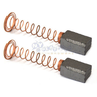 2 pair Carbon Brushes For DREMEL 90828 232 332 6x5x11.5 Rotary Cut Grinder Mult