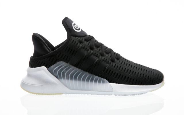 e7c658d4fd8e18 adidas Originals Climacool 02 17 Black White Men Running Shoes ...
