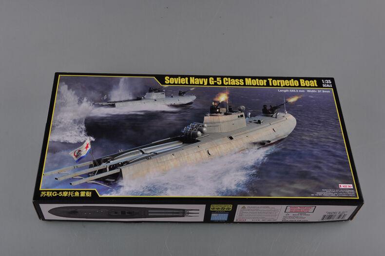 Merit 1 35 63503 Soviet Navy G-5 Class Motor Torpedo Boat