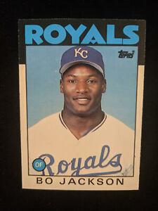 Bo Jackson 1986 Topps Traded Rookie Card - #50T - Kansas City Royals
