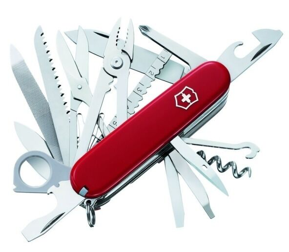 Swiss Army Original Knife Swisschamp Red Victorinox 53501