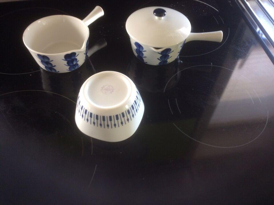 Porcelæn, Skåle, Lyngby