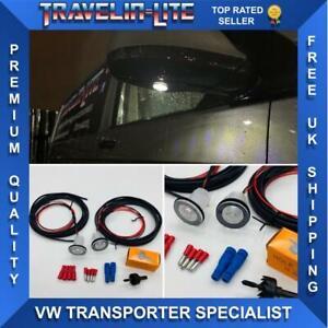 VW-T5-1-T6-LED-de-luces-de-cortesia-Espejo-Upgrade-Kit-Transporter-2010-en-adelante