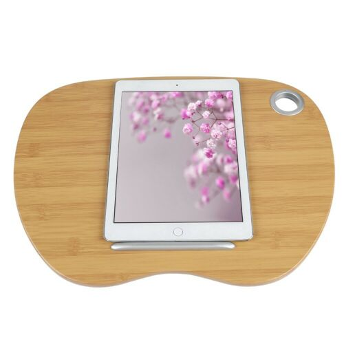 """Portable Laptop Lap Desk Cushion Tray Bed Notebook Home Office Fit 14/"""" Computer"""