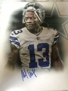 MICHAEL-GALLUP-SIGNED-DALLAS-COWBOYS-8x10-Photo-AUTographed-Gdst-Holo-E