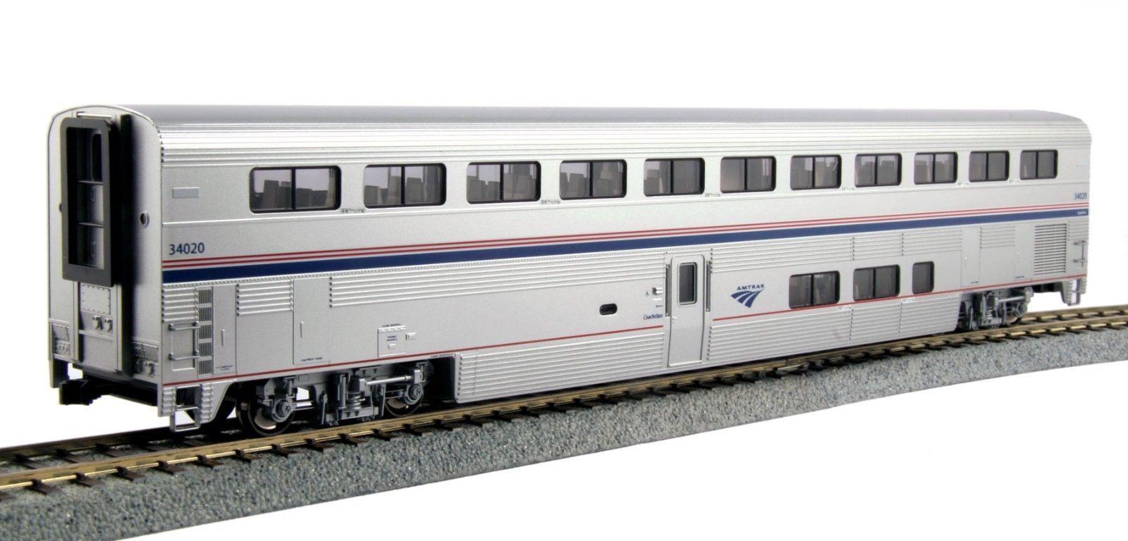 Kato 356055 Amtrak súperliner I Entrenador Escala Ho Ph VI 34030 35-6055